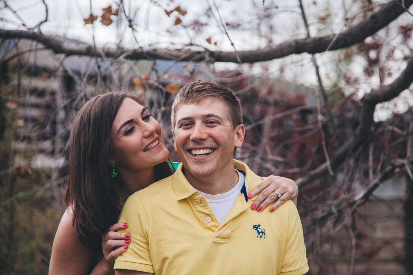 011-engagement-trees-fun-laughing-durango-colorado-farmington