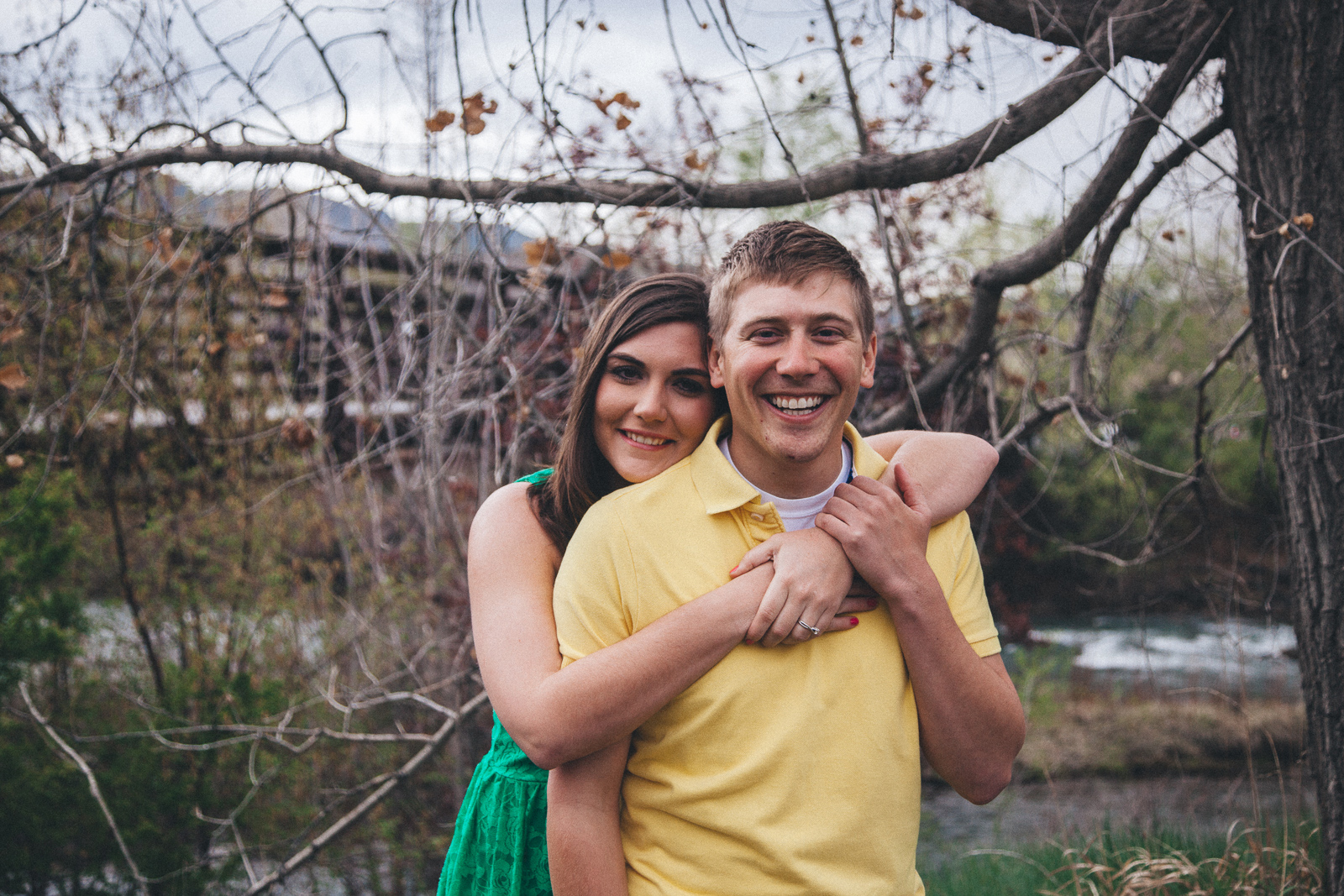 012-engagement-trees-fun-laughing-durango-colorado-farmington