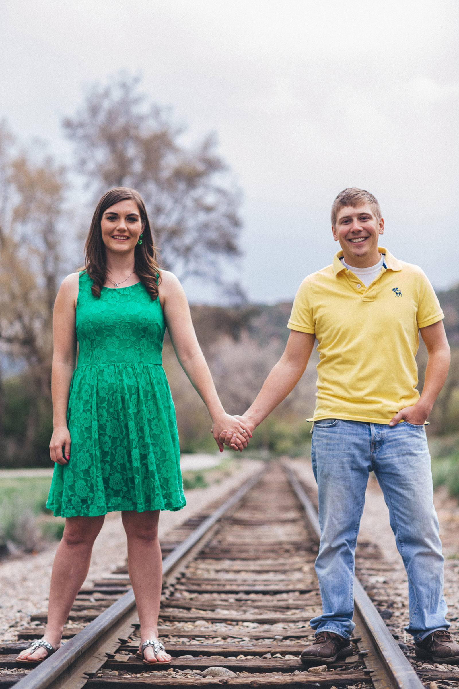 022-engagement-trees-fun-wedding-train-aughing-durango-colorado-farmington