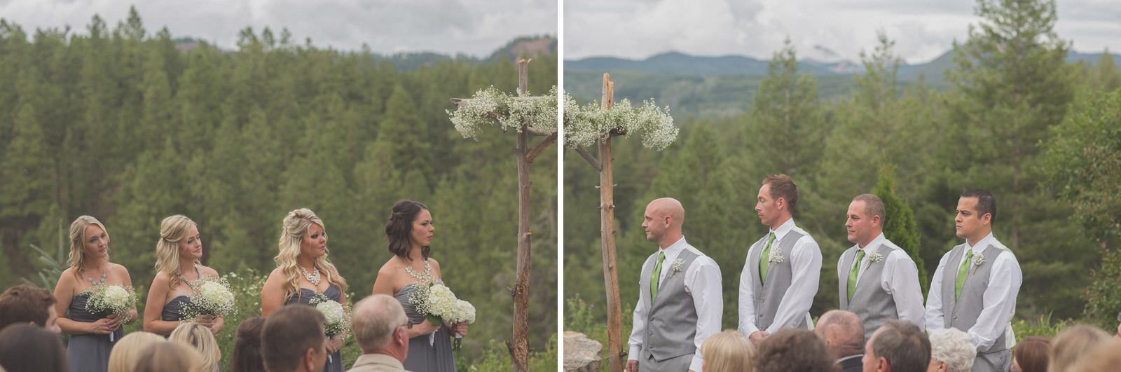 131-wedding-ideas-ideas-wedding-forest-mason-jars-backdrop-colorado-mancos-ceremony