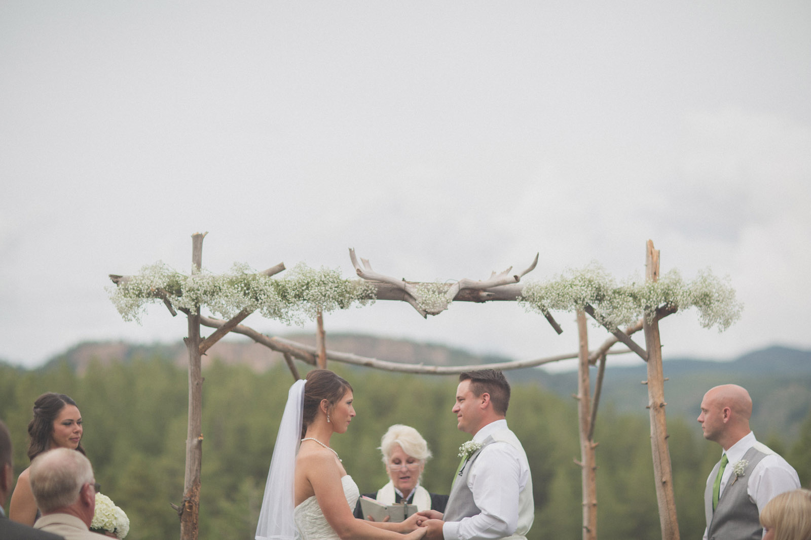 136-wedding-ideas-ideas-wedding-forest-mason-jars-backdrop-colorado-mancos-ceremony