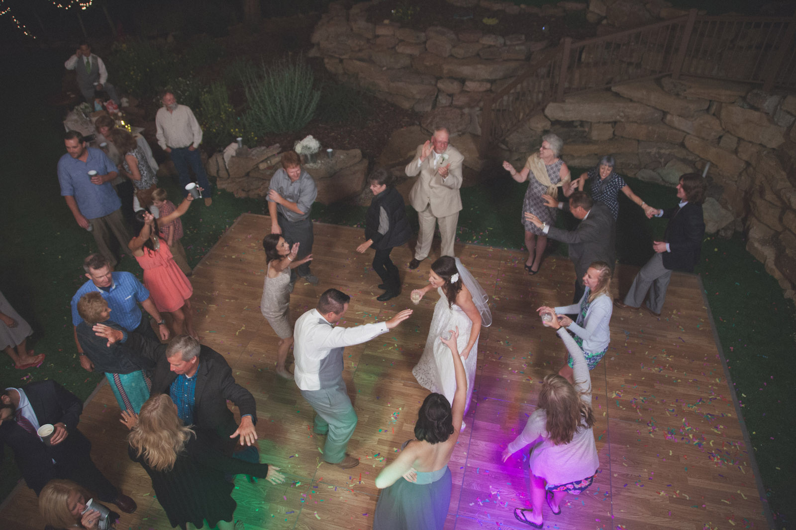 239-reception-ideas-reception-farmington-nm-co-new-mexico-colorado-mancos-ideas-string-lights-cabin-outside-natural-wedding-night-strobe-flash-dance-party