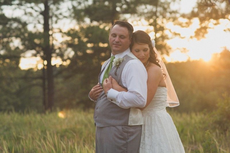 lake,bokeh,trees,groom,bride,wedding,cabin,woods,forest,pictures