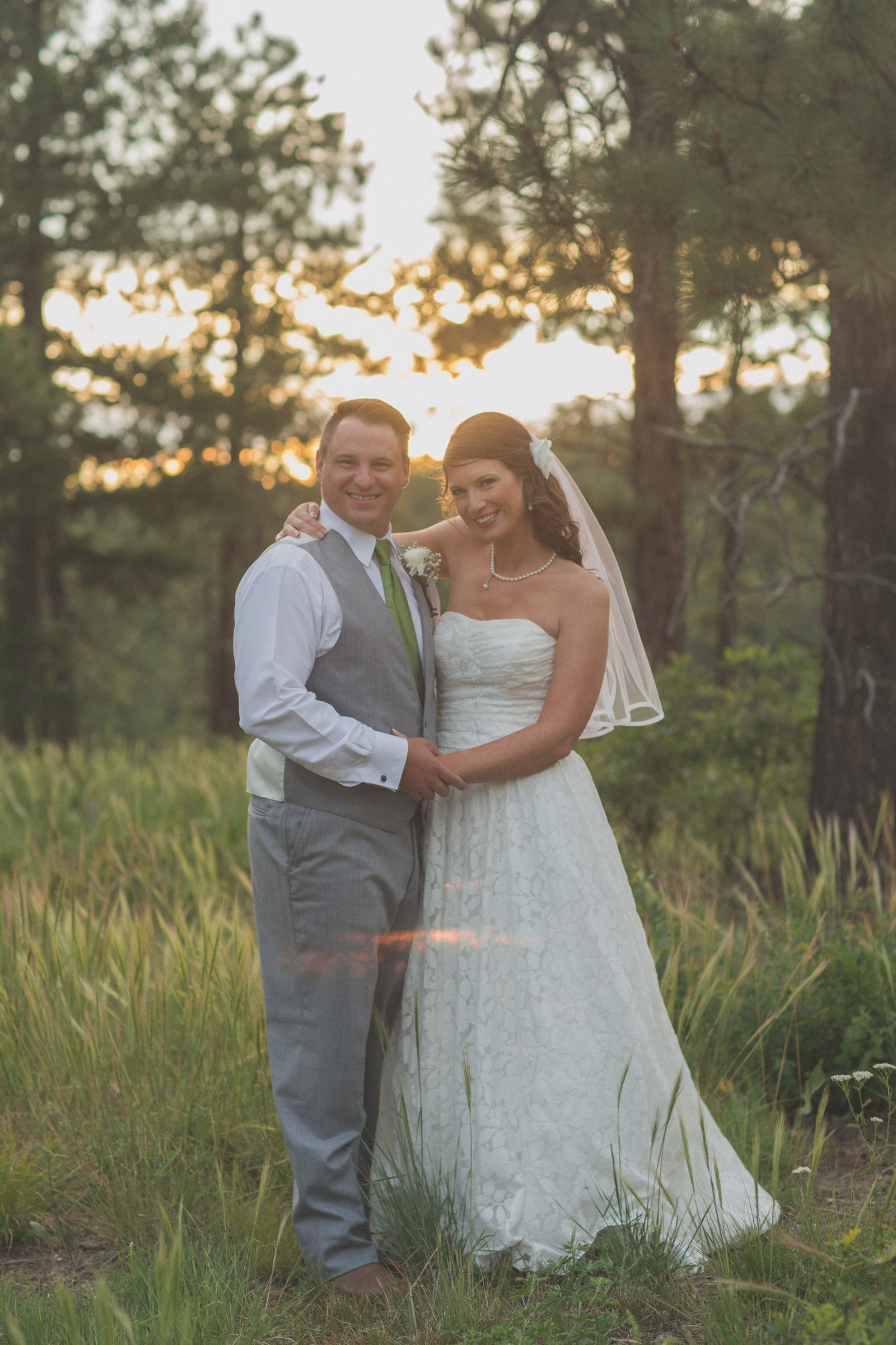 forest bride trees sunset wedding photographers in farmington nm 8
